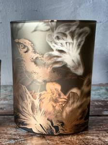 Bilde av Lysglass med fugl H 12cm