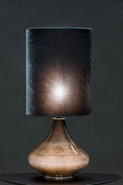 Flavia negra, Velvet Gris, H 70cm